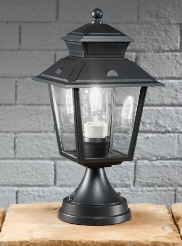 Franklite EXT6607 Dark Grey Pedestal Light